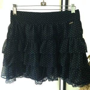 Hollister Skirt, Color Midnight/Dark Blue, Size M